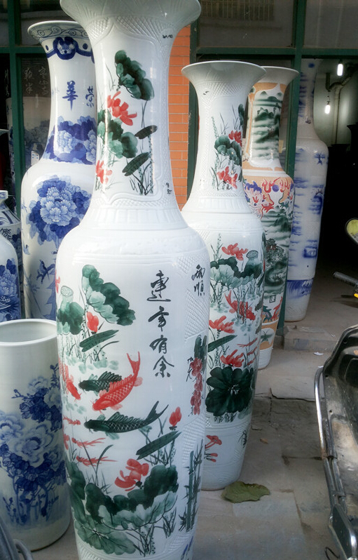 传统工艺青花瓷,陶瓷收藏品,青花瓷花瓶,青花瓷装饰瓷盘,景德镇青花瓷