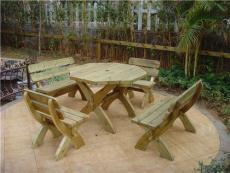 廣州深圳珠海戶外家具戶外木桌椅