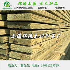南方松防腐木价格 上海 南方松板材进口