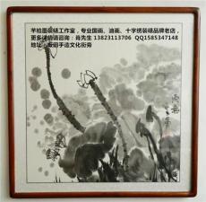 深圳書畫禮品裝裱供應商 兒童畫框海報裝裱