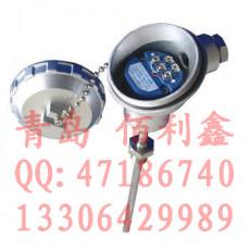 青島帶數顯表頭型一體化溫度變送器 傳感器