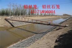 甘南黄河堤岸护坡铅丝石笼抛石护坡铅丝石笼