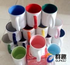昆明陶瓷杯印刷logo加定做印字才几元钱一个
