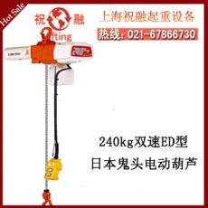 日本鬼頭電動葫蘆 鬼頭鏈條電動葫蘆 結構簡