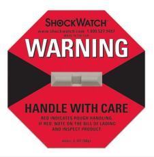 SHOCKWATCH防震撞標簽防傾斜指示器標簽價格