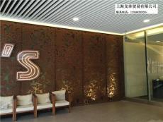 上海室内外装饰锈钢板镂空雕花生锈钢板批发