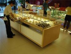 烤漆玻璃面包展示柜