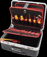 西安宝合工具40件绝缘拉杆箱综合工具组套