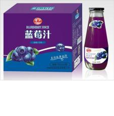 恬润780ml蓝莓饮料 小瓶蓝莓汁厂家