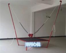 儿童游乐设备钢架蹦极现货 可折叠的蹦极床