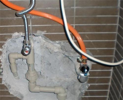 水管维修改造图片,马桶维修拆装图片,更换水龙头图片 上海洪运管道疏通清洗抽粪公司