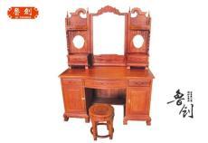 东阳红木家具定做/浙江红木家具定做/梳妆台