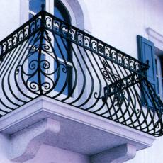 重庆市铁艺栏杆制作安装 铁艺大门定制加工